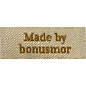 Image of   Label Made by Bonusmor Sandfarve