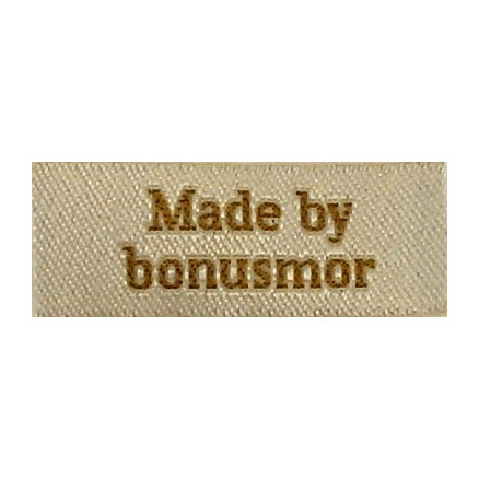 Image of   Label Made by Bonusmor Sandfarve