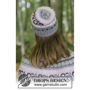 Telemark Hat by DROPS Design - Hue Strikkeopskrift str. S/M