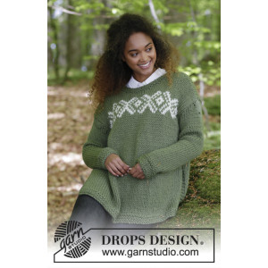 Nordkapp by DROPS Design - Bluse Strikkekit str. S - XXXL