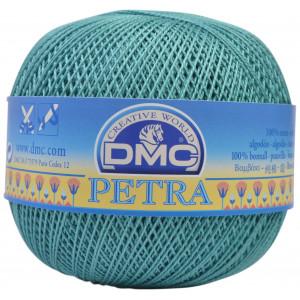 DMC Petra nr. 8 Hæklegarn Unicolor 53849 Søgrøn