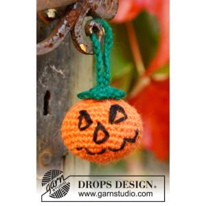 Jack by DROPS Design - Halloween Græskar Hæklekit 5cm
