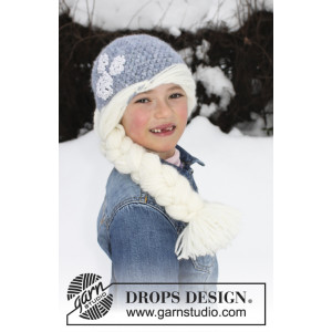 Princess Snowflake by DROPS Design - Hue Hæklekit str. 1/2 år - 7/8 år