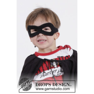 Little Zorro by DROPS Design - Maske Hæklekit One size