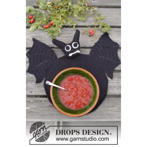 Lunch With Vlad by DROPS Design - Dækkeserviet Hækleopskrift 26 cm