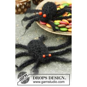 Aragog by DROPS Design - Halloween Pynt Hækleopskrift