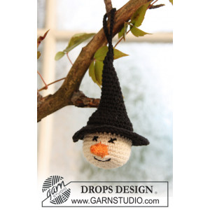 Tabitha by DROPS Design - Halloween Pynt Hæklekit