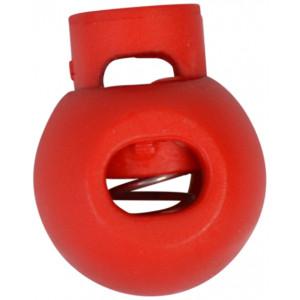 Snorstopper Rund Rød 5,5mm - 1 stk