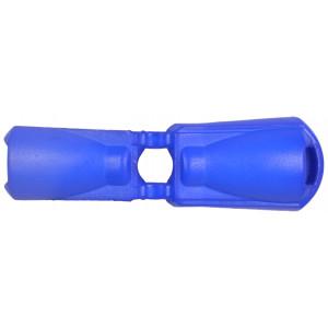 Endestopper Plast Koboltblå 3,5mm - 1 stk