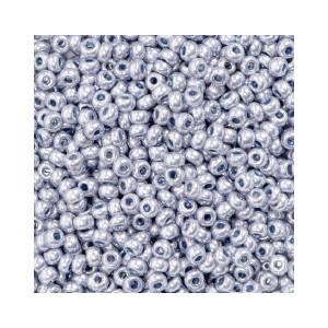 Du Store Alpakka Rocaiperler 6/0 Sølv - 50 gram