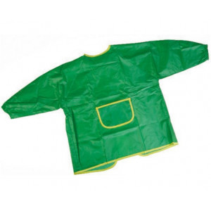 Børneforklæde Nylon Græsgrøn 5-10 år