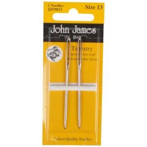 John James Stramajnåle uden Spids Str. 13 - 2 stk