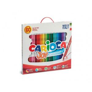Carioca Tuscher/Tusser Ass. farver - 60 stk