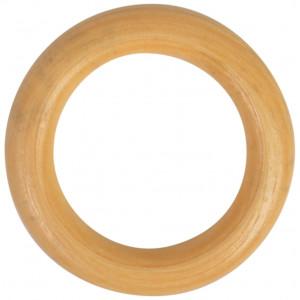 Træringe / Gardinringe Lakeret Træ 50mm - 1 stk