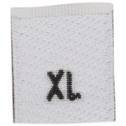 Image of   Label Størrelse X-Large - 1 stk