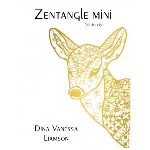 Zentangle Mini - Vilde dyr - Bog af Dina Vanessa Liamson