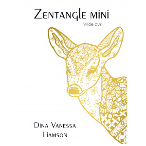 3044b53d Zentangle Mini - Vilde dyr - Bog af Dina Vanessa Liamson