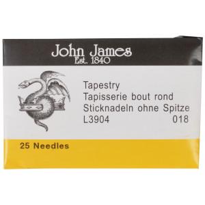 John James Stramajnåle uden Spids Str. 18 - 25 stk