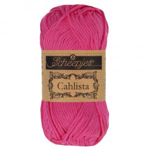 Image of   Scheepjes Cahlista Garn Unicolor 114 Shocking Pink