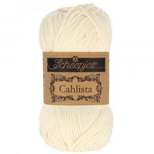 Image of   Scheepjes Cahlista Garn Unicolor 130 Old Lace