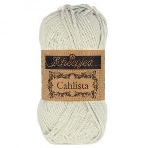 Image of   Scheepjes Cahlista Garn Unicolor 172 Light Silver