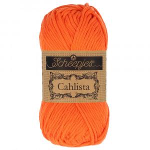 Image of   Scheepjes Cahlista Garn Unicolor 189 Royal Orange