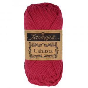 Image of   Scheepjes Cahlista Garn Unicolor 192 Scarlet