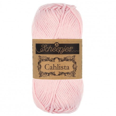 Image of   Scheepjes Cahlista Garn Unicolor 238 Powder Pink