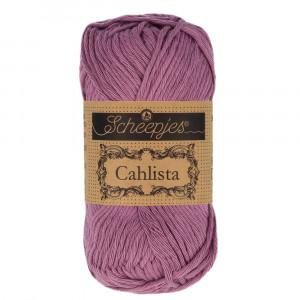 Image of   Scheepjes Cahlista Garn Unicolor 240 Amethyst