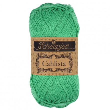 Image of   Scheepjes Cahlista Garn Unicolor 241 Parrot Green