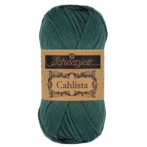Image of   Scheepjes Cahlista Garn Unicolor 244 Spruce