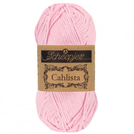 Image of   Scheepjes Cahlista Garn Unicolor 246 Icy Pink