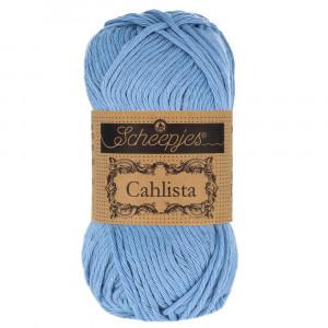 Image of   Scheepjes Cahlista Garn Unicolor 247 Bluebird