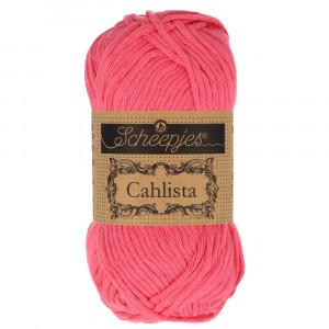 Image of   Scheepjes Cahlista Garn Unicolor 256 Carmelia Rose