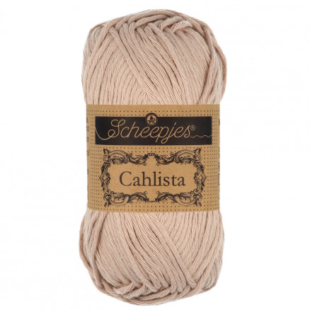 Image of   Scheepjes Cahlista Garn Unicolor 257 Antique Mauve