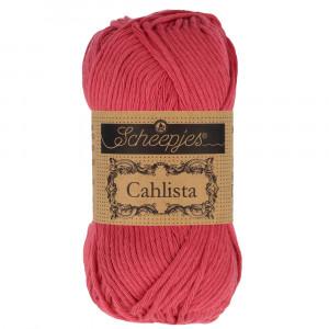 Image of   Scheepjes Cahlista Garn Unicolor 258 Rosewood