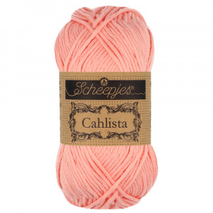 Image of   Scheepjes Cahlista Garn Unicolor 264 Light Coral