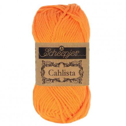 Image of   Scheepjes Cahlista Garn Unicolor 281 Tangerine