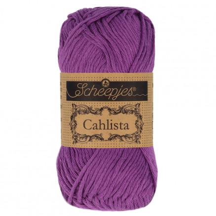 Image of   Scheepjes Cahlista Garn Unicolor 282 Ultra Violet