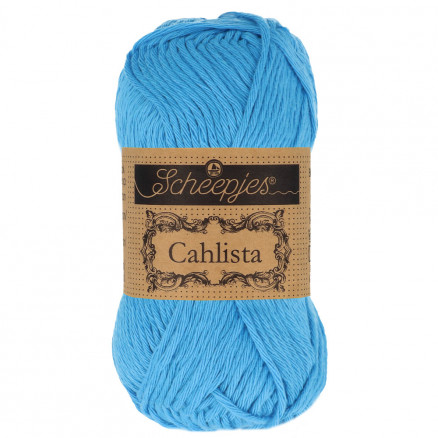 Image of   Scheepjes Cahlista Garn Unicolor 384 Powder Blue