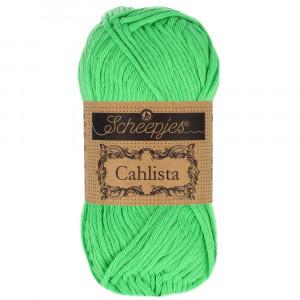 Image of   Scheepjes Cahlista Garn Unicolor 389 Apple Green