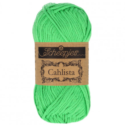 Image of   Scheepjes Cahlista Garn Unicolor 389 Apple Green