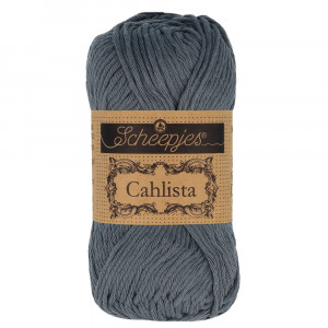 Image of   Scheepjes Cahlista Garn Unicolor 393 Charcoel