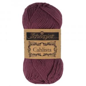 Image of   Scheepjes Cahlista Garn Unicolor 394 Shadow Purple