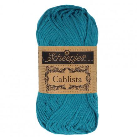 Image of   Scheepjes Cahlista Garn Unicolor 400 Petrol Blue