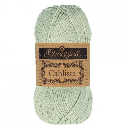 Image of   Scheepjes Cahlista Garn Unicolor 402 Silver Green