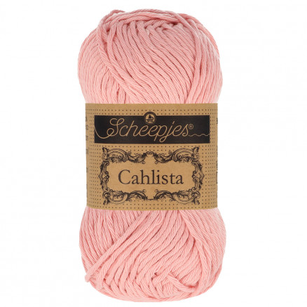 Image of   Scheepjes Cahlista Garn Unicolor 408 Old Rose