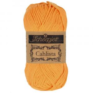 Image of   Scheepjes Cahlista Garn Unicolor 411 Sweet Orange