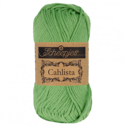 Image of   Scheepjes Cahlista Garn Unicolor 412 Forest Green