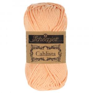 Image of   Scheepjes Cahlista Garn Unicolor 414 Vintage Peach